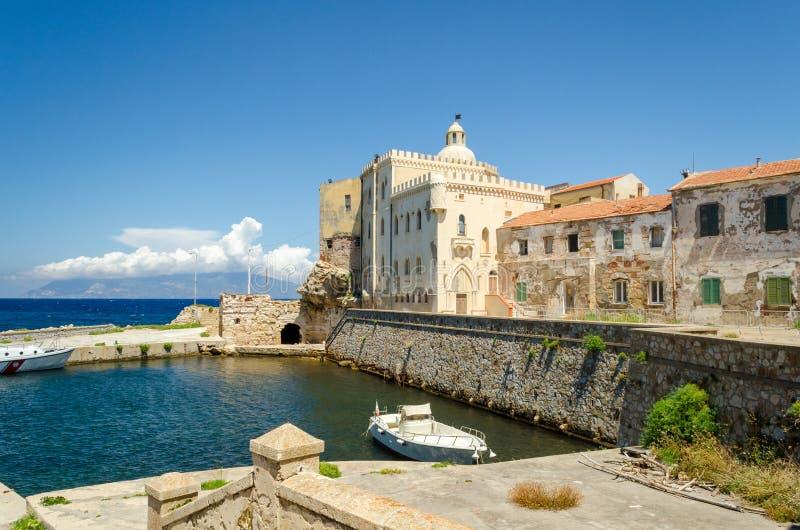 Ilha de Pianosa, Toscânia, Itália imagens de stock royalty free