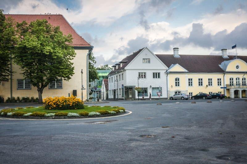 Ilha de Saaremaa, Estónia fotos de stock