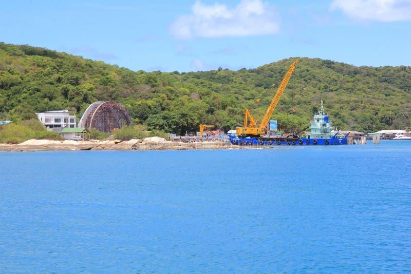 Ilha de Samed imagem de stock