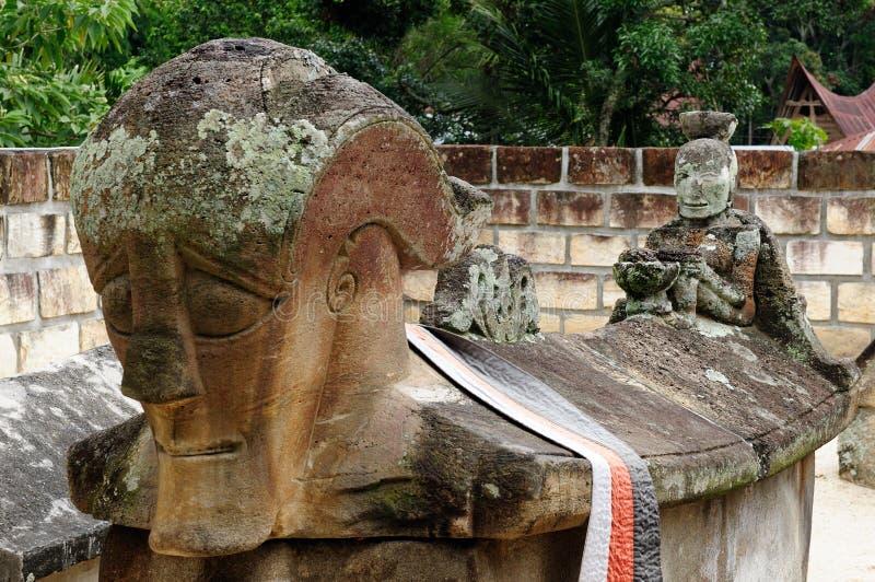 Ilha de Samosir, lago Toba, Sumatra norte, Indon?sia imagens de stock royalty free