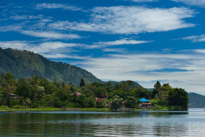 Ilha de Samosir fotografia de stock royalty free