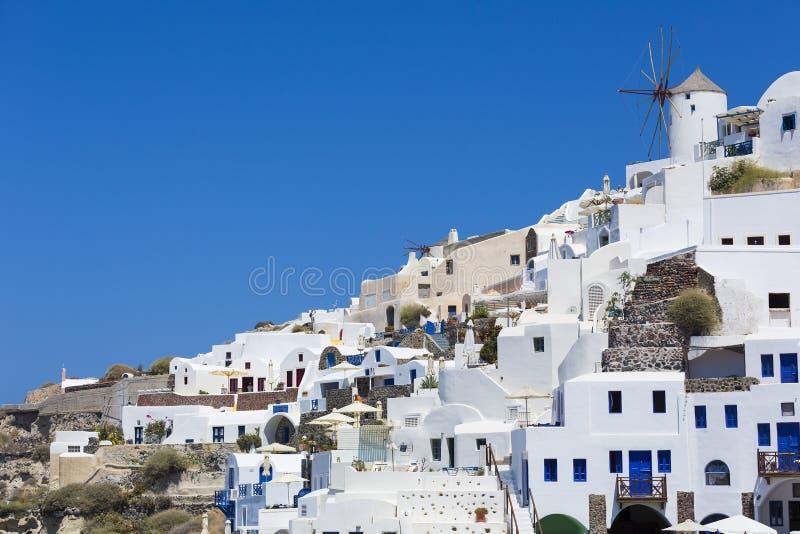 Ilha de Santorini em Grécia fotos de stock