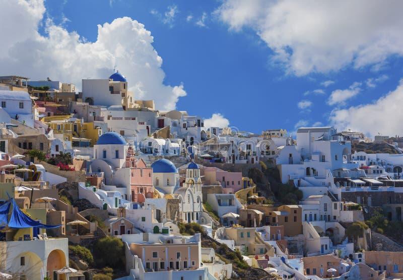 Ilha de Santorini em Grécia imagem de stock royalty free