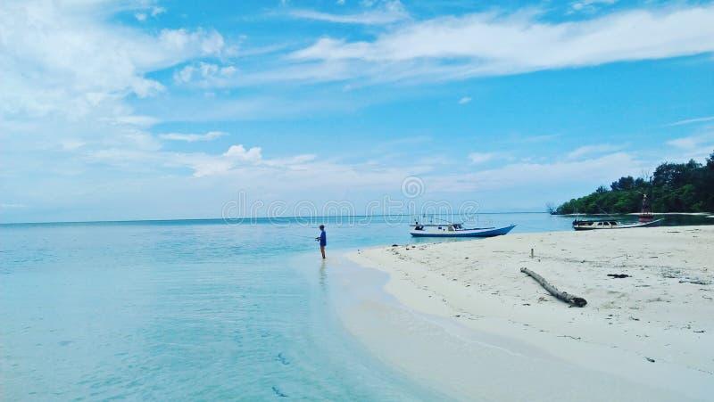 Ilha de Seruni foto de stock