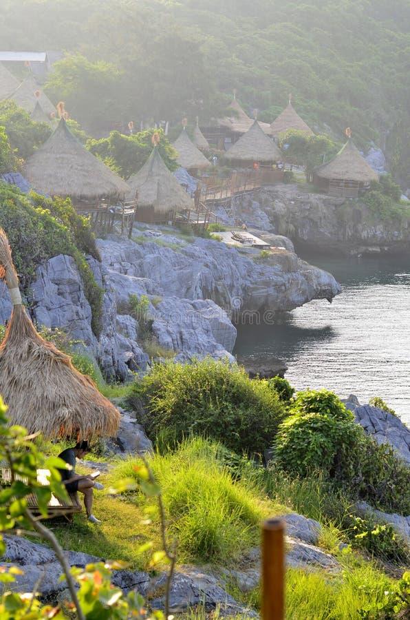 Ilha de Sichang em Tailândia fotos de stock royalty free