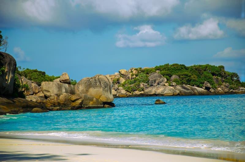 Ilha de Similans de Tailândia foto de stock