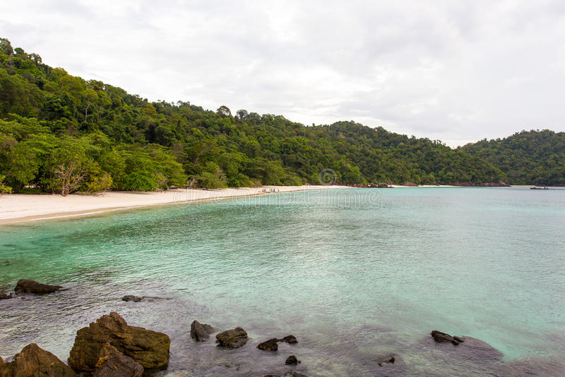 Ilha de Ta Fook imagem de stock