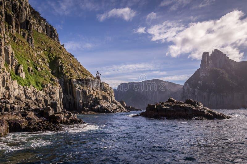 Ilha de Tasman, Austrália fotografia de stock