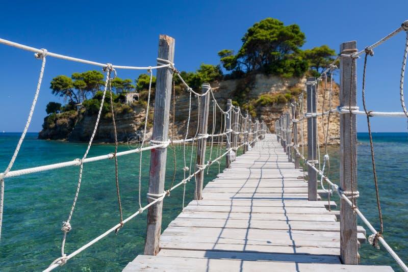 Ilha de Zakynthos foto de stock