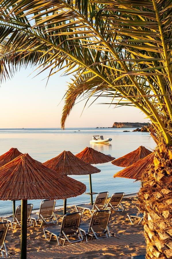 Ilha de Zakynthos, Gr?cia Uma p?rola do mediterr?neo com as praias e as costas apropriadas por feriados inesquec?veis do mar foto de stock royalty free