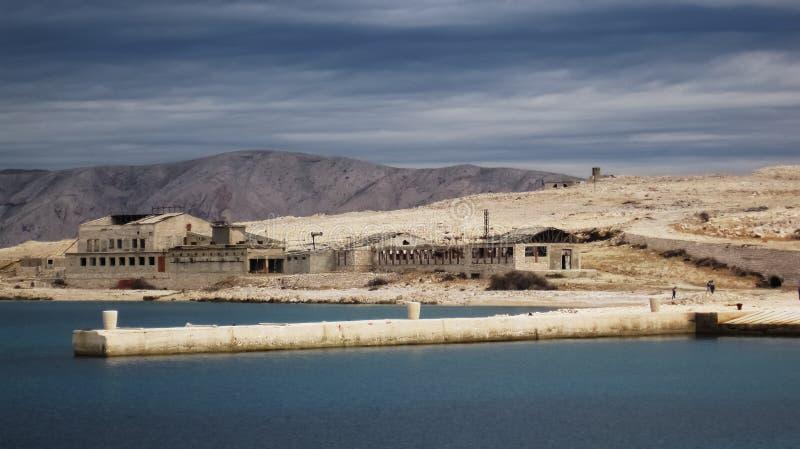 Ilha despida fotografia de stock