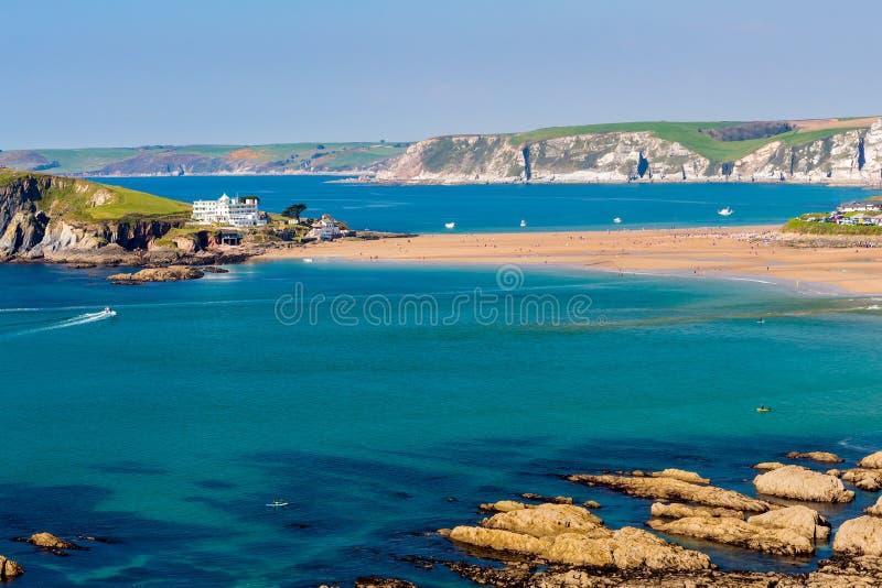 Ilha Devon England sul do Burgh fotografia de stock royalty free