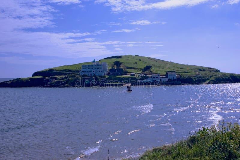 Ilha do Burgh fotografia de stock