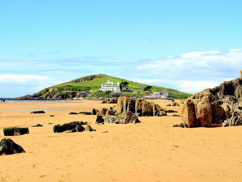Ilha do Burgh, Devon foto de stock