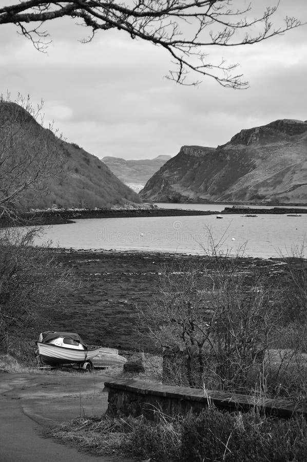 Download Ilha de Skye no inverno foto de stock. Imagem de outdoor - 29840102