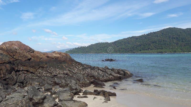 Ilha do lipe do Koh em Tailândia imagem de stock
