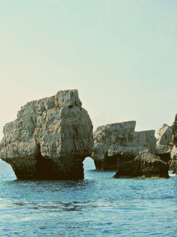 Ilha do Rodes imagem de stock