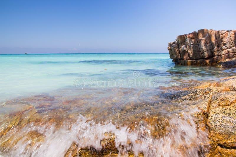 ilha do tachai, mar em Tailândia foto de stock