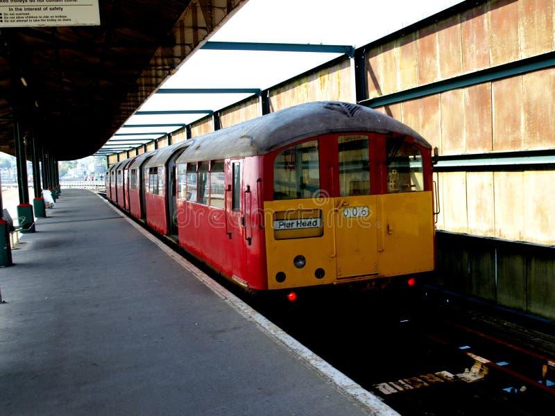 Ilha do trem do Wight foto de stock royalty free
