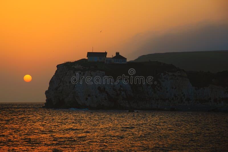 Ilha do Wight fotografia de stock