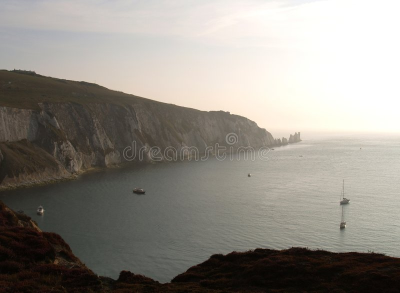 Ilha do Wight foto de stock