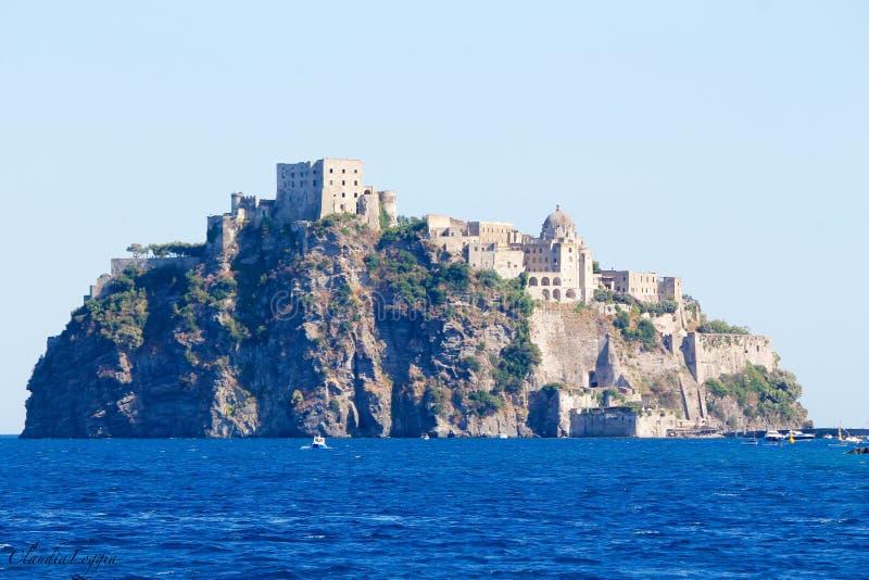 Ilha dos ísquios imagens de stock royalty free