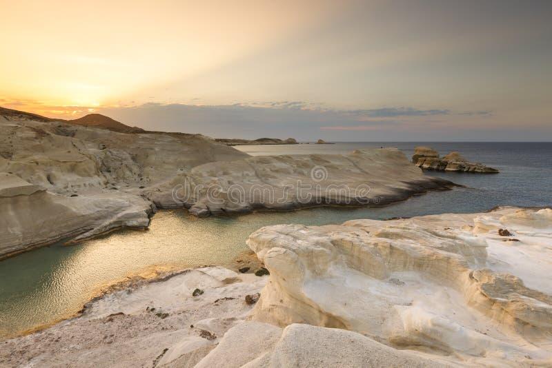 Ilha dos Milos imagens de stock royalty free