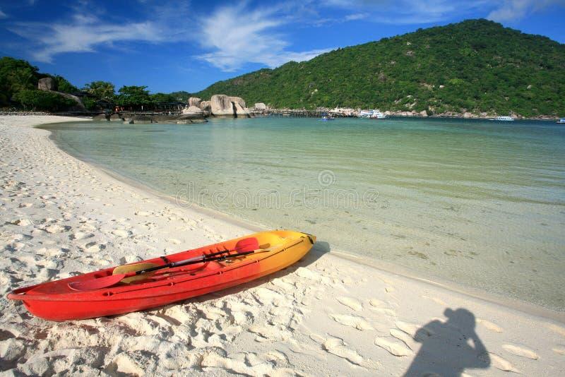 Ilha em Tailândia do sul, Koh Tao imagem de stock