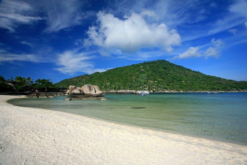 Ilha em Tailândia do sul, Koh Tao fotos de stock royalty free