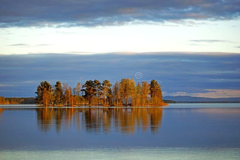 Ilha escandinava imagem de stock