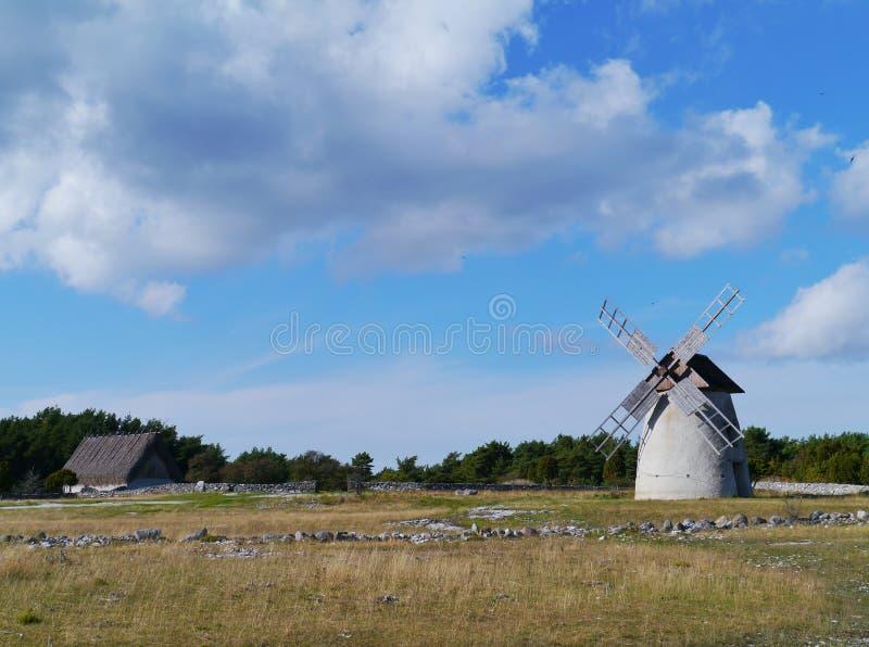 A ilha Faro na Suécia fotografia de stock royalty free