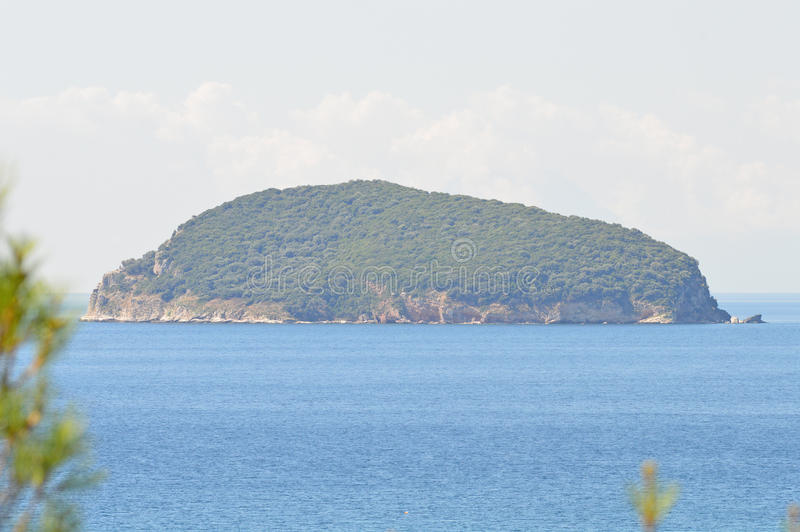 Ilha Grécia da serpente imagem de stock