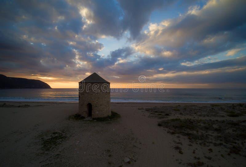 Ilha Grécia de Lefkas fotos de stock