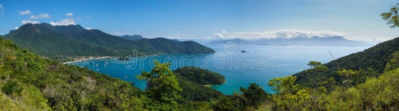 Ilha grande, el Brasil fotos de archivo