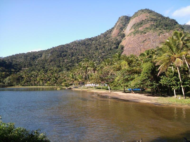 Ilha grande, el Brasil foto de archivo