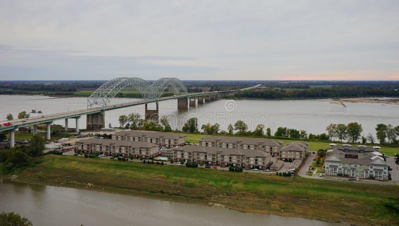 Ilha grande no rio Mississípi fotografia de stock royalty free