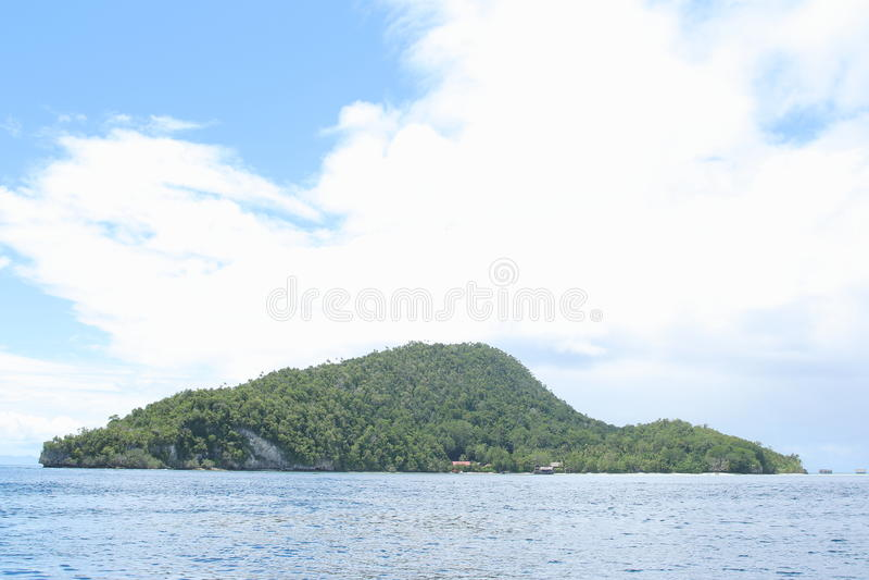 Download Ilha Kri imagem de stock. Imagem de overgrown, indonésia - 65577605