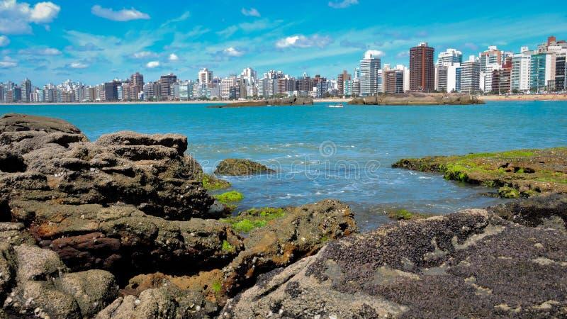 Ilha litoral fotografia de stock