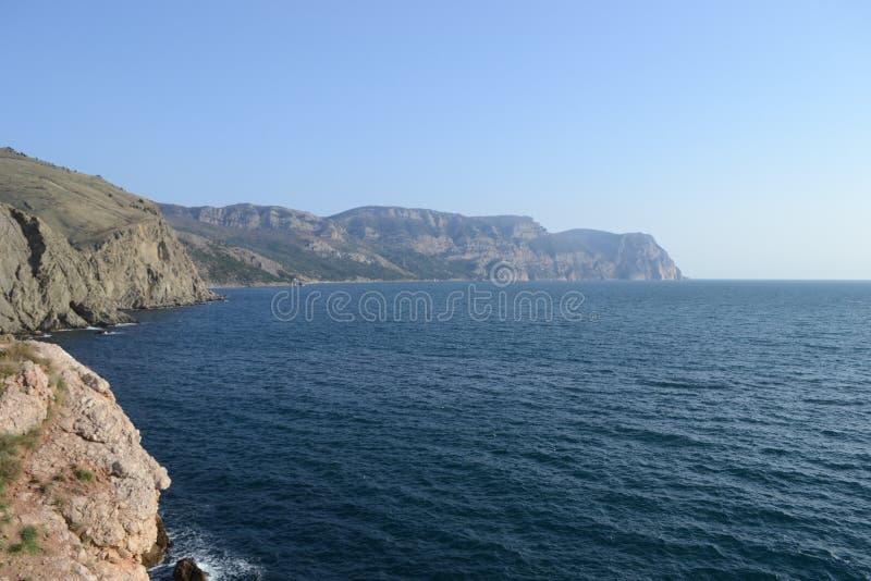 Ilha no mar foto de stock