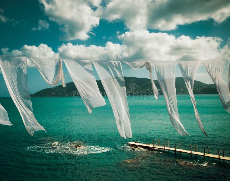 ilha pequena em Grécia, Zakynthos imagens de stock