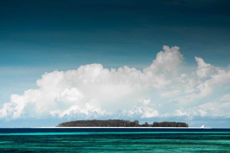 Ilha pequena perto de Zanzibar foto de stock royalty free