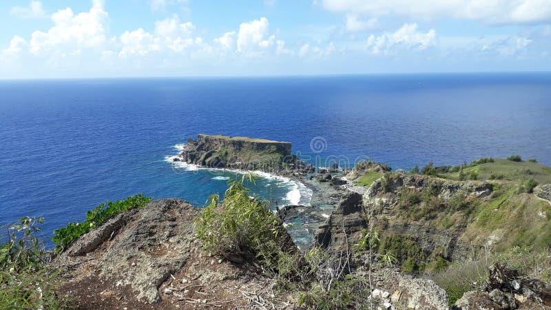 Ilha proibida imagem de stock