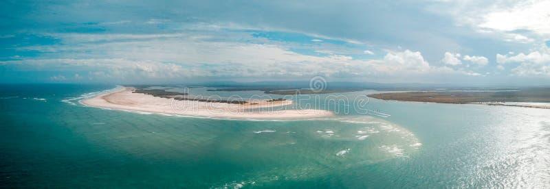 Ilha Queensland de Stradbroke fotografia de stock