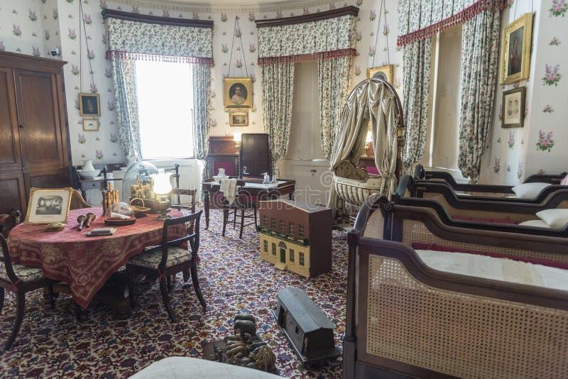 Ilha real da casa de Osborne do berçário do Wight fotografia de stock royalty free