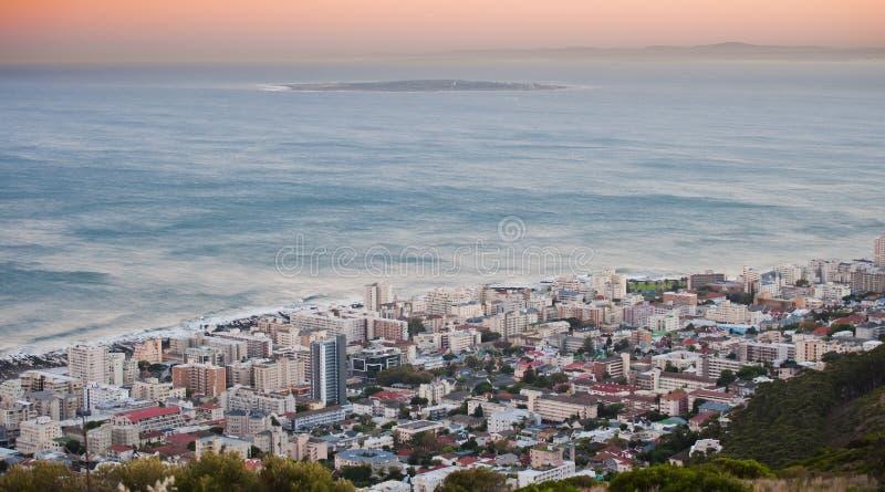 Ilha robern Capetown África do Sul de Greenpoint fotografia de stock royalty free