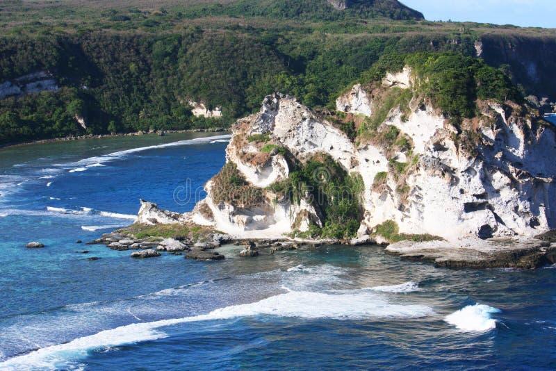 Ilha Saipan do ` s do pássaro imagens de stock