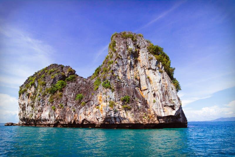 Ilha, Tailândia imagens de stock royalty free