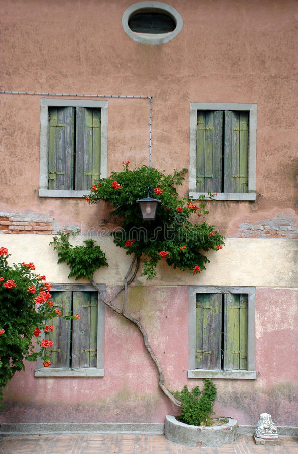 Ilha Torcello na lagoa de Veneza fotos de stock royalty free