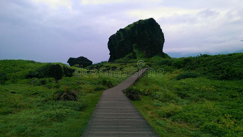 Ilha verde Taiwan foto de stock royalty free