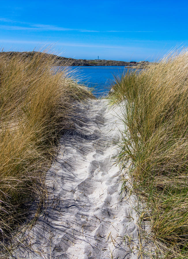 Ilhas bonitas com natureza bonita - Gothenburg, Suécia fotografia de stock